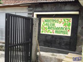 Dikontrakkan Rumah Dijalan Sukahati, Bogor -> Gerbang Pintu Komplek