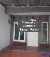 Disewakan Tahunan Rumah di Perum. Taman Palem Jakarta -> Ada Pagar Besi