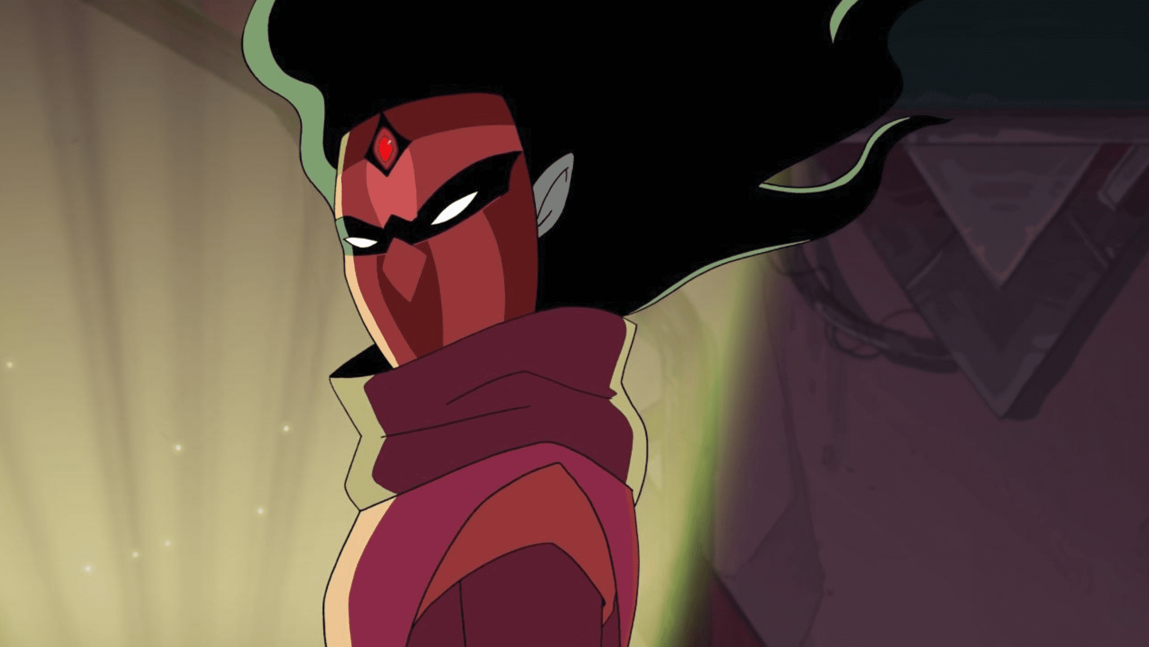An image of Shadow Weaver from the Netflix cartoon series