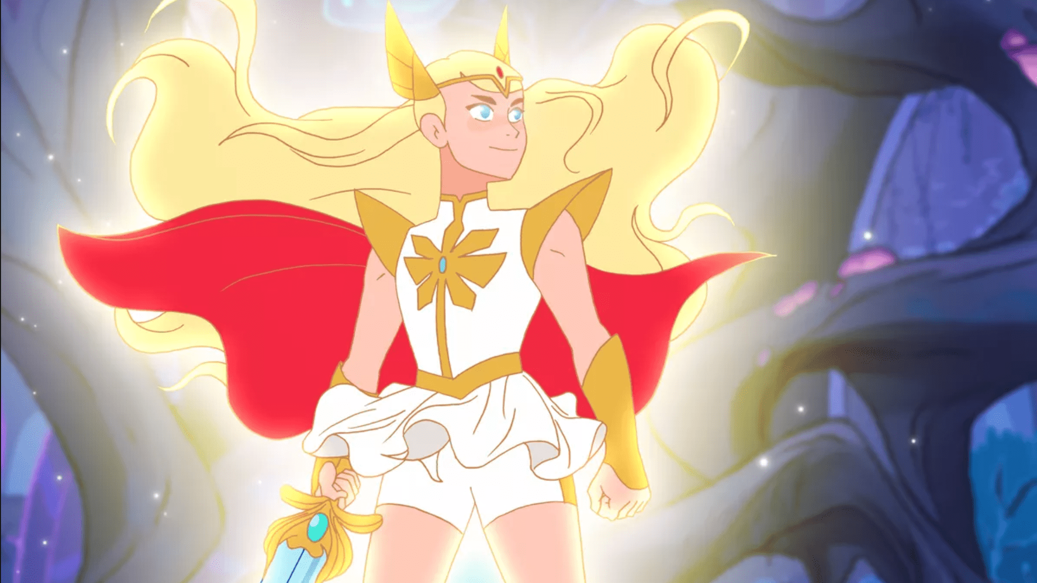 An image of Shera from the Netflix cartoon series