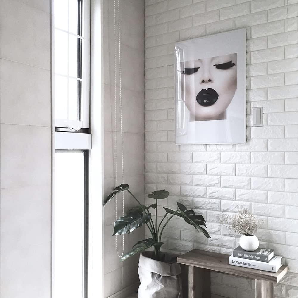 Jual Arthome Wallpaper 3 D Motif Bata ...