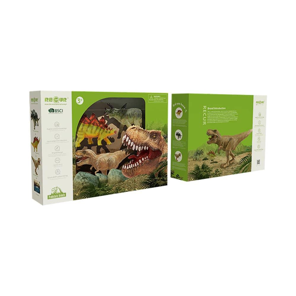 Jual Recur Miniatur Dino 3 Pcs Original Ace