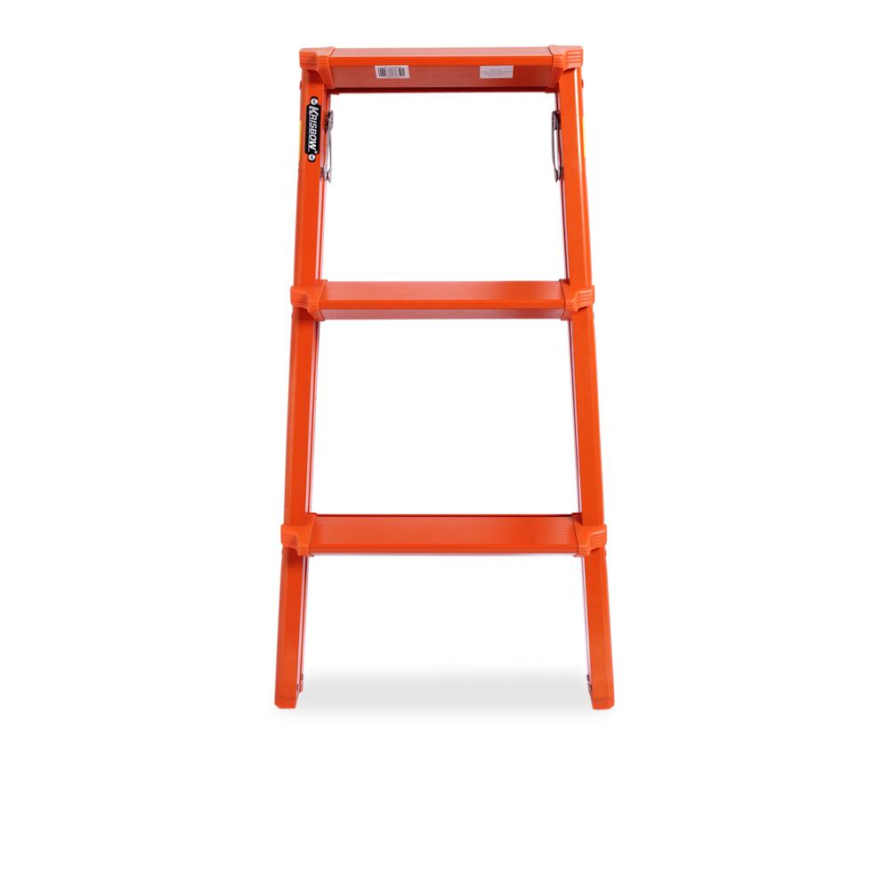 Krisbow Tangga Aluminium 1 Step Stool Oranye5 Daftar Harga Terkini Lipat 13m 6 Kw0102783 Jual 3