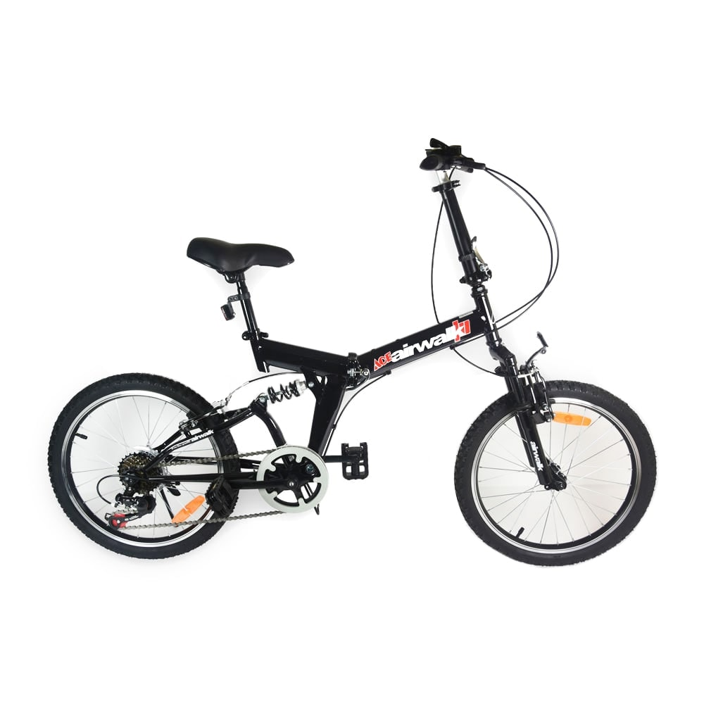 Jual Airwalk Expresso Suspension Sepeda Lipat 20 7 Speed Hitam Trolley Alat Berat Elektrik Krisbow 1t Kw0501625 Ruparupa