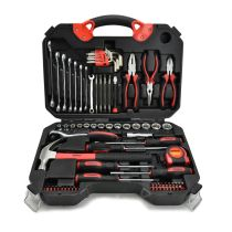 KRISBOW MECHANICAL TOOL SET - HITAM