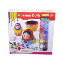PAINT YOUR DREAM WORLD BONEKA RUSIA