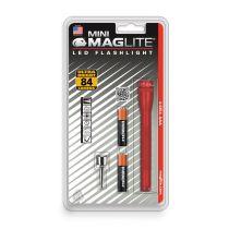MAGLITE SENTER LED MINI MAG HANGPACK AAA SP32036 - MERAH