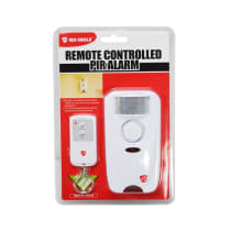 RED SHIELD ALARM PIR DENGAN REMOTE KONTROL