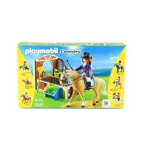 PLAYMOBIL SHOW HORSE WITH STALL