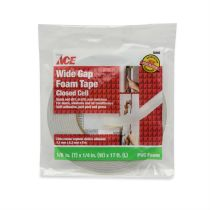 ACE ISOLASI PVC FOAM WIDE GAP 3.18 X 6.35 X 432 MM
