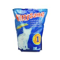 KITTY SAND PASIR KUCING SILICA 3.8 LTR