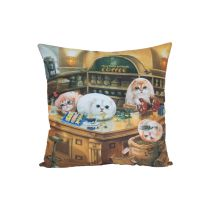 HENRY CATS & FRIENDS BANTAL PERSEGI HENRY CAFE