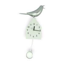 KRISHOME JAM DINDING DEKORATIF - SINGING BIRD HOUSE