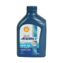 SHELL ADVANCE OLI MESIN MOTOR SKUTER 10W-40 800ML