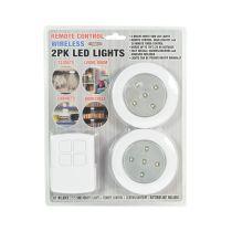 SET LAMPU LEMARI LED DENGAN REMOTE CONTROL