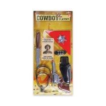 KIDDY FUN COWBOY PLAYSET