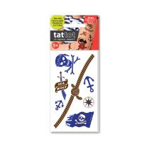 TATTOT STIKER TATO TEMPORARY SMALL 69524 - PIRATE