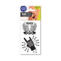 TATTOT STIKER TATO TEMPORARY - ROCK AND ROLL