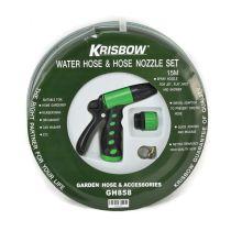 KRISBOW SET SELANG AIR DAN PIPA SEMPROT ½ INCI X15 M