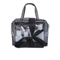 SET TAS MAKE UP - HITAM PUTIH