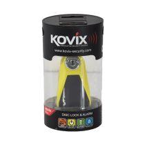 KOVIX GEMBOK MOTOR ALARM KNL5 - KUNING