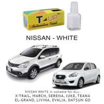T-UP CAT OLES PENGHILANG GORESAN NISSAN - WHITE
