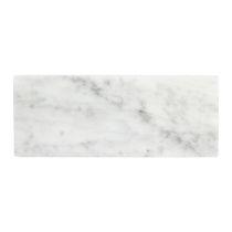 GLERRY HOME DECOR MITER WHITE MOONSTONE MARBLE 25X10CM