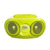 PHILIPS AZ215G SOUNDMACHINE CD PLAYER RADIO - HIJAU