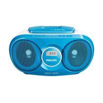 PHILIPS AZ215N SOUNDMACHINE CD PLAYER RADIO - NAVY