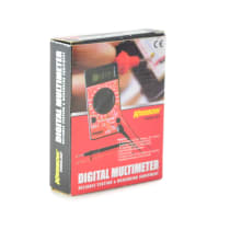 KRISBOW MULTIMETER DIGITAL DENGAN SENTER