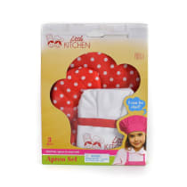 LITTLE KITCHEN SET CELEMEK - MERAH