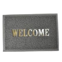 KESET PVC WELCOME 40X60 CM - ABU ABU