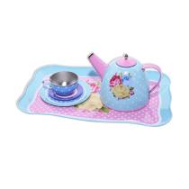 JUST FOR TEA TIN TEA SET FLOWER - BIRU PINK