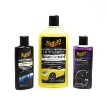 MEGUIARS CAR CARE KIT NEW CAR BRILLIANT SOLUTION