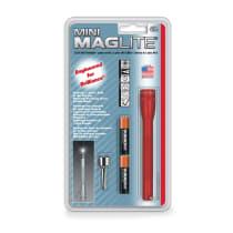 MAGLITE SENTER MINI HANGPACK AAA M3A036R - MERAH