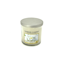 YANKEE GARDENIA WHITE CANDLE TUMBLER 198 GR