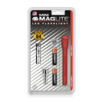 MAGLITE SENTER LED MINI MAG HANGPACK AAA SP32036 - MERAH