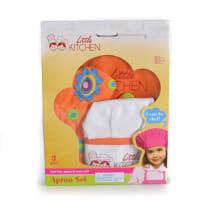 LITTLE KITCHEN SET CELEMEK - ORANYE