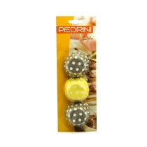 PEDRINI PAPERCUP MINI 3.5 X 2.5 CM (200) - COKLAT/KUNING