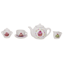 JUST FOR TEA SET TEH CUPCAKE