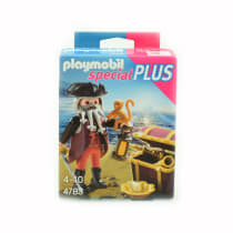 PLAYMOBIL PIRATES WITH TREASURE CHEST