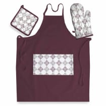 INFORMA SET CELEMEK 3 PCS - BURGUNDY