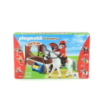 PLAYMOBIL FLAMENCO HORSE WITH STALL