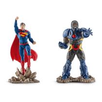 SCHLEICH DC COMICS - SUPERMAN VS DARKSEID SCENERY PACK