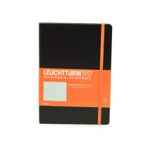 LEUCHTTURM NOTEBOOK GARIS A5 - HITAM