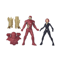 MARVEL IRON MAN & BLACK WIDOW MINIFIGURE