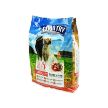 COUNTRY DOG FOOD BEEF 2 KG