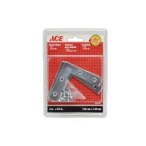 ACE BRAKET SUDUT BESI FLAT 3.5 X 5/8 INC - 4 PCS