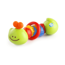 BKIDS RATTLE AND TEETHER CATERPILLAR