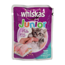 WHISKAS JUNIOR TUNA 85 GR